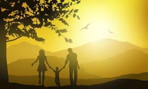 fondo campo familia